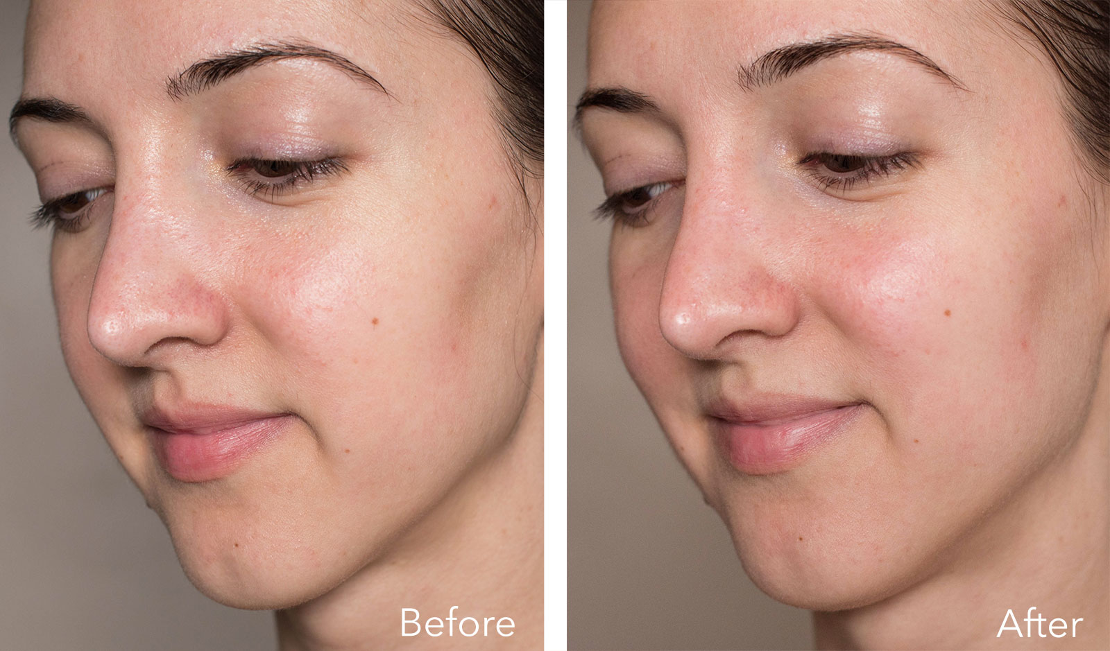 Goop Exfoliating Instant Facial review, before & after