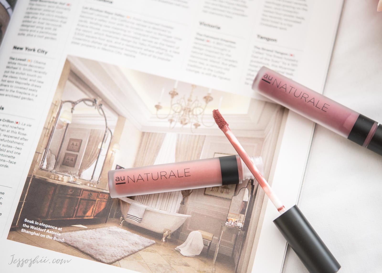 Au Naturale su:Stain Lip Stain review, swatches