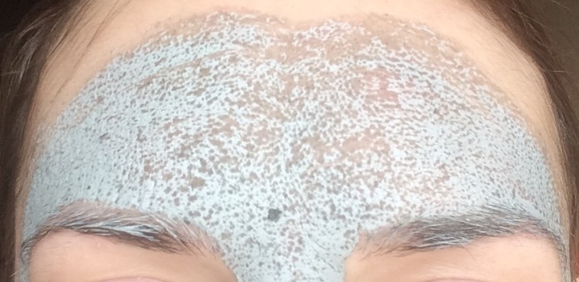 Glamglow Supermud Clearing Treatment before and after