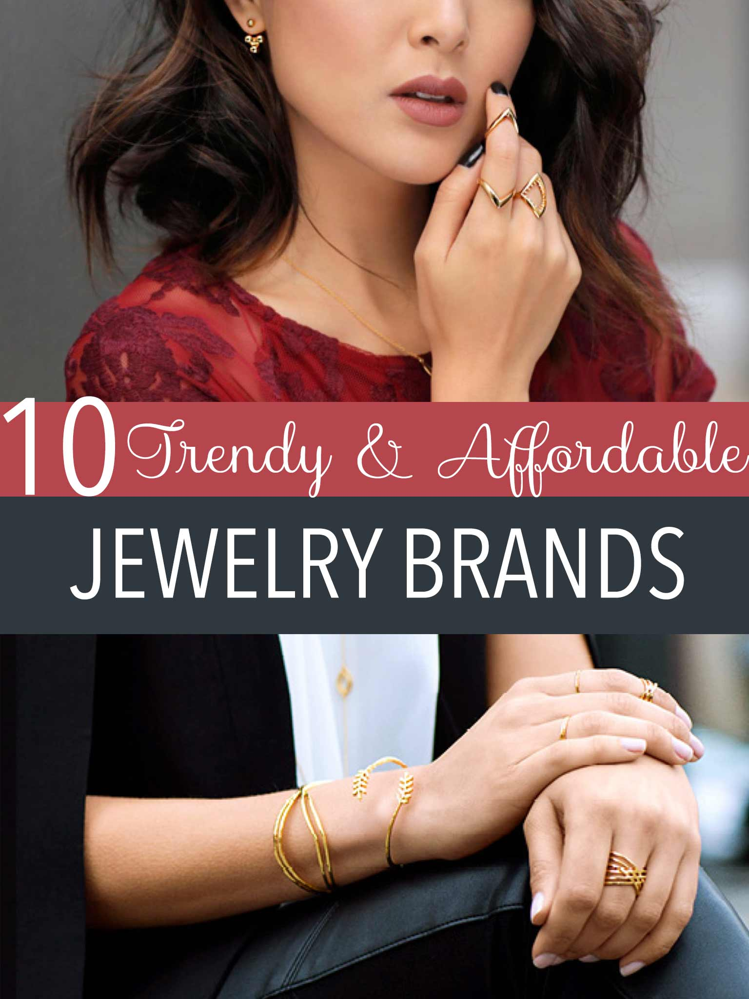 trendy and affordable jewelry brands