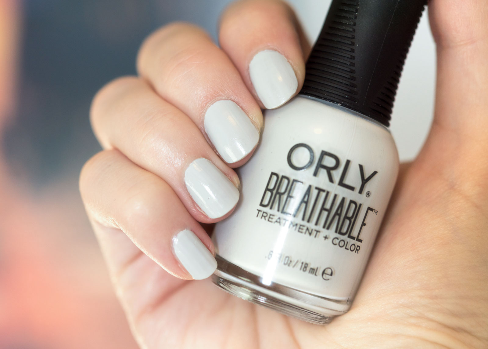 Orly Breathable Treatment + Color Review Power Packed swatch