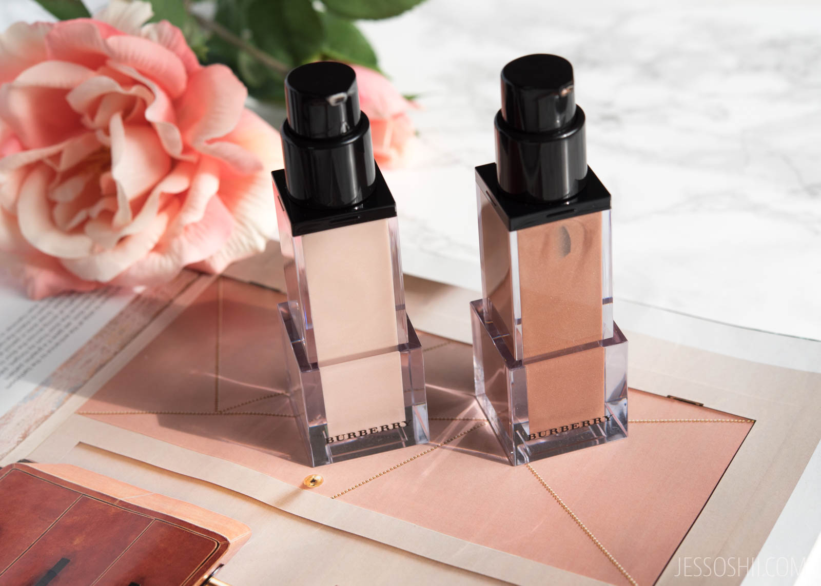 Burberry Fresh Glow Luminous Fluid Base Nude Radiance, Golden Radiance Review