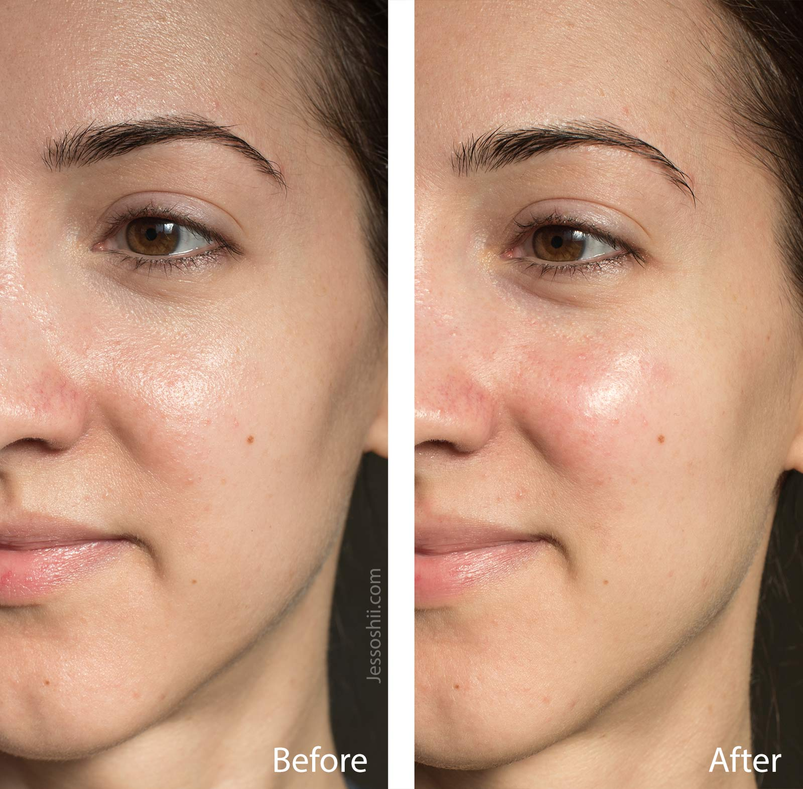 farmacy bright on vitamin c mask before & after 7