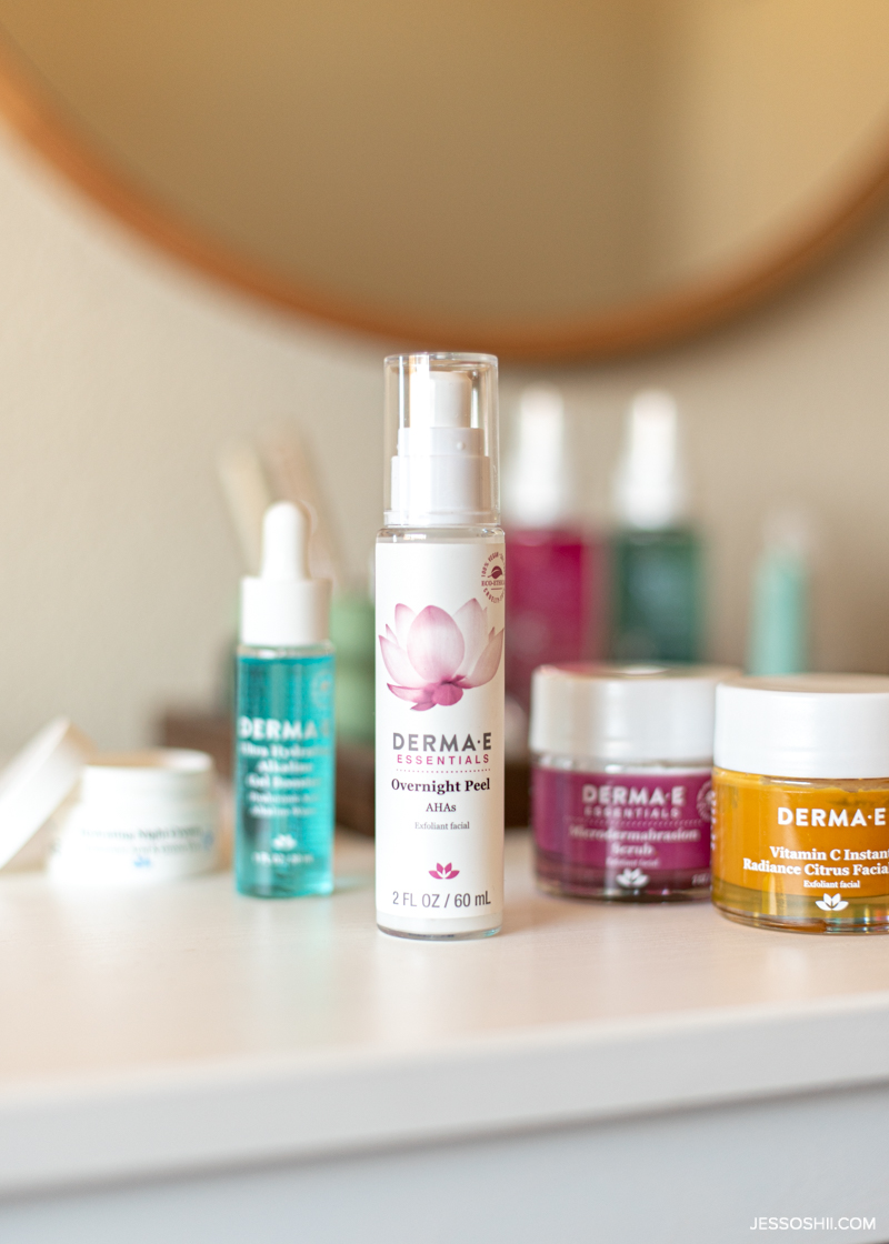 Best affordable clean skincare brands - Derma e 1